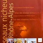"""Couverture du livre """"Oiseaux Nicheurs de Rhône-Alpes"""""""