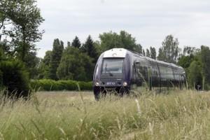 Passage dun train en DOmbes