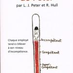 """Couverture du livre """"Le Principe de Peter"""""""