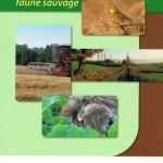 """Couverture du livre """"Productions végétales, pratiques agricoles et faune sauvage"""""""