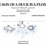"Couverture du livre ""The son of a duck is a floater"" de Primrose Arnander et Ashkhain Skipwith, illustrations : Kathryn Lamb"